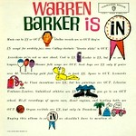 Cover 'Warren Barker is In!' LP
